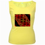 XtrStylez-565483 Women s Yellow Tank Top