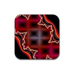 XtrStylez-565483 Rubber Square Coaster (4 pack)