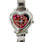 XtrStylez-565483 Heart Italian Charm Watch