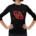 XtrStylez-565483 Women s Long Sleeve Dark T-Shirt