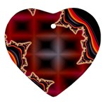 XtrStylez-565483 Heart Ornament (Two Sides)