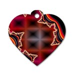 XtrStylez-565483 Dog Tag Heart (Two Sides)