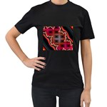 XtrStylez-565483 Women s Black T-Shirt