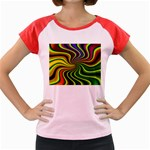 hippy-550591 Women s Cap Sleeve T-Shirt