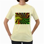 hippy-550591 Women s Yellow T-Shirt