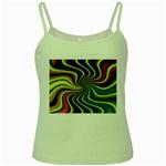 hippy-550591 Green Spaghetti Tank