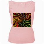 hippy-550591 Women s Pink Tank Top