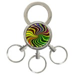 hippy-550591 3-Ring Key Chain