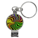 hippy-550591 Nail Clippers Key Chain