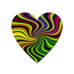 hippy-550591 Magnet (Heart)