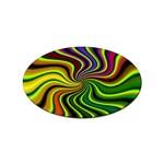 hippy-550591 Sticker Oval (10 pack)