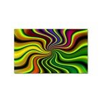 hippy-550591 Sticker Rectangular (100 pack)
