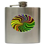 hippy-550591 Hip Flask (6 oz)
