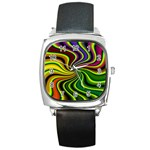 hippy-550591 Square Metal Watch