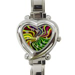 hippy-550591 Heart Italian Charm Watch