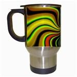 hippy-550591 Travel Mug (White)