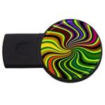 hippy-550591 USB Flash Drive Round (4 GB)
