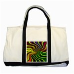 hippy-550591 Two Tone Tote Bag
