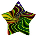 hippy-550591 Star Ornament (Two Sides)