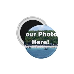 Personalised Photo 1.75  Magnet from SnappyGifts.co.uk Front