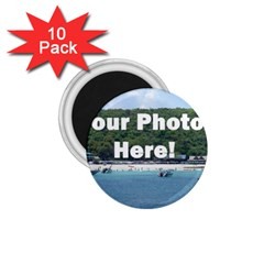 Personalised Photo 1.75  Magnet (10 pack)  from SnappyGifts.co.uk Front