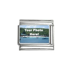 Personalised Photo Italian Charm (9mm) from SnappyGifts.co.uk Front
