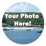 Personalised Photo Magnet 5  (Round)
