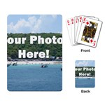 Personalised Photo Playing Cards Single Design
