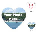Personalised Photo Playing Cards (Heart)