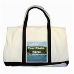 Personalised Photo Two Tone Tote Bag