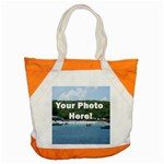 Personalised Photo Accent Tote Bag