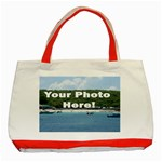 Personalised Photo Classic Tote Bag (Red)