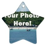 Personalised Photo Star Ornament (Two Sides)
