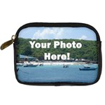 Personalised Photo Digital Camera Leather Case
