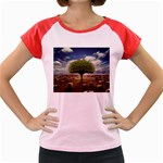 4-908-Desktopography1 Women s Cap Sleeve T-Shirt