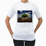 4-908-Desktopography1 Women s T-Shirt