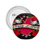 True-Love-Tattoo-Belt-Buckle 2.25  Button