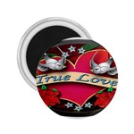 True-Love-Tattoo-Belt-Buckle 2.25  Magnet