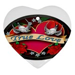 True-Love-Tattoo-Belt-Buckle Ornament (Heart)