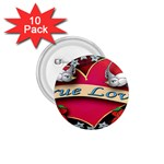 True-Love-Tattoo-Belt-Buckle 1.75  Button (10 pack)