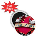 True-Love-Tattoo-Belt-Buckle 1.75  Magnet (100 pack)