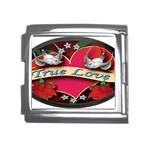 True-Love-Tattoo-Belt-Buckle Mega Link Italian Charm (18mm)