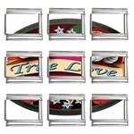 True-Love-Tattoo-Belt-Buckle 9mm Italian Charm (9 pack)