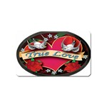 True-Love-Tattoo-Belt-Buckle Magnet (Name Card)