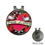 True-Love-Tattoo-Belt-Buckle Golf Ball Marker Hat Clip