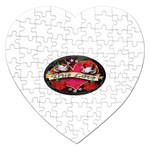 True-Love-Tattoo-Belt-Buckle Jigsaw Puzzle (Heart)