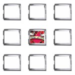 True-Love-Tattoo-Belt-Buckle Mega Link Italian Charm (9 pack)