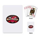 True-Love-Tattoo-Belt-Buckle Playing Cards Single Design