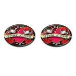True-Love-Tattoo-Belt-Buckle Cufflinks (Oval)