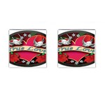 True-Love-Tattoo-Belt-Buckle Cufflinks (Square)